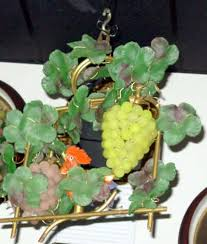 Glass Fruit Chandelier by Antique Chandeliers