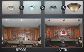 how to convert a pendant light to a recessed light fantastic convert recessed light to pendant shib remodeling kit in