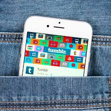 pattern jeans tumblr silver apple iphone 6 displaying tumblr application editorial stock