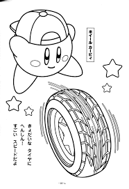 kirby coloring coloring pages epicness