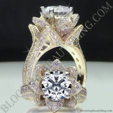 big diamond engagement rings unique engagement rings for women by blooming beauty jewelry