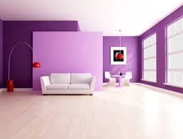 decorar un salon lila y gris pared de color casas deco