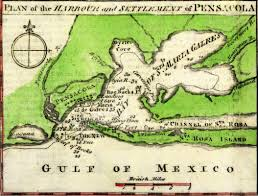 Florida Shipwrecks Map On This Day In Florida History May 10 1781 Spanish Gen