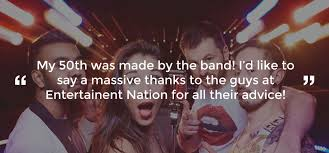 party bands uk entertainment nation