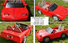 corvette power wheels cost to transport a power wheels corvette child size seats 2 to