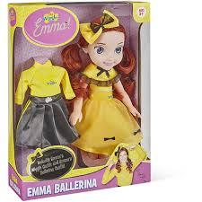 the wiggles emma ballerina dress up doll big w