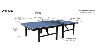 ping pong table playing area table tennis table buying guide from aussie table tennis