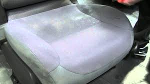 Do It Yourself Car Upholstery Diy How To Clean Fabric Car Seat For Free Youtube