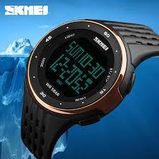 top brand luxury digital sports watches waterproof