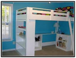 Bunk Bed With Open Bottom Bunk Bed With Storage And Desk Home Design Ideas
