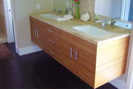 Floating Bathroom Vanity by Floating Wood Bathroom Vanity For Modern Bathrooms Useful