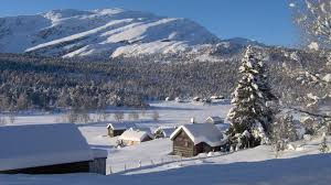 Winter Houses by Winter Wallpapers Page 29 Winter Snow Valley Houses Mountains