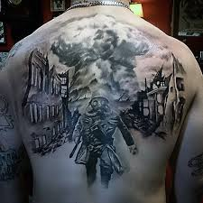 awesome military tattoos for men on back dope tattoos