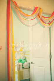 tissue paper streamers decorating with crepe paper streamers best 25 crepe paper