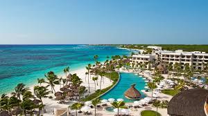 Mexico Resorts Map by Secrets Akumal Riviera Maya