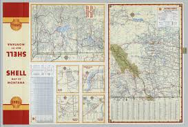 Map Montana Various Regions And Cities In Montana And Alberta David Rumsey