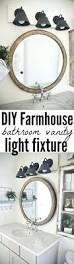 bathroom vanity lighting tips modern farmhouse hampton 3 light