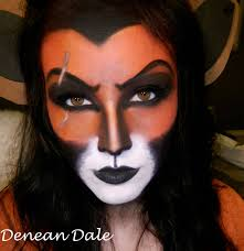 leopard halloween makeup ideas for my disney lovers scar makeup i did tutorial in the comments