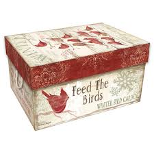 christmas ornament storage box bob s winter pallet christmas ornament storage box