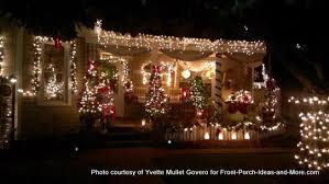 Christmas Decorations Outdoor Ideas Columns by Outdoor Christmas Light Decorating Ideas To Brighten The Season