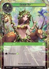 sacred l1 starter deck swarming elves of will