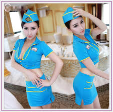 Halloween Flight Attendant Costume Cheap Fanciful Flights Aliexpress Alibaba Group