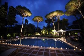 Pool Landscape Lighting Ideas Extraordinary Outdoor Lighting Around Pool Landscape Ideas Garden