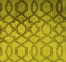 designer chinoiserie imperial trellis velvet fabric kiwi green