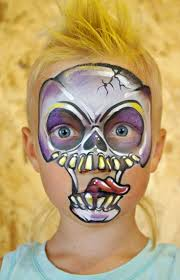 91 best scary face art inspiration images on pinterest costumes
