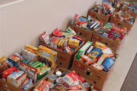 thanksgiving food baskets help local families lions club of avon oh