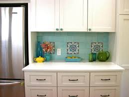 multi color backsplash tile glass cabinet hardware room