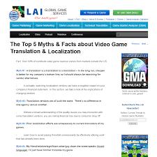 lai transforming game localization