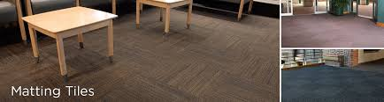 matting tiles commercial flooring products
