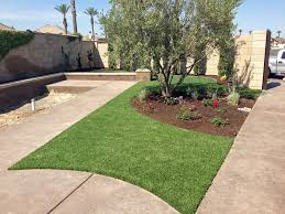 Backyard Landscaping Cost Estimate Artificial Grass Installation Bowie Arizona Landscape Rock Front