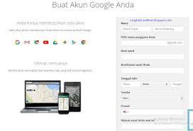 buat akun google bru langkah langkah bagaimana cara membuat akun email baru di google