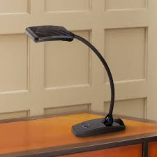 ricky black led desk lamp with usb port by 360 lighting amazon com