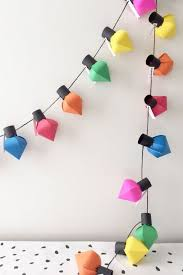 Paper Christmas Lights 669 Best Christmas Images On Pinterest