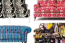 Floral Sofas In Style 3 Ways To Make It Work Living With A Bold Patterned Sofa