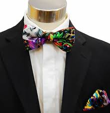 mardi gras bow tie men s bow tie and matching pocket square mardi gras
