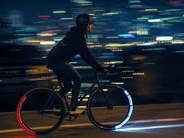 best led bike lights review these futuristic bike lights are one of the best ways to ride safely