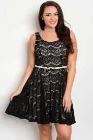 c2 a 7 d6024x black plus size dress 2 2 2
