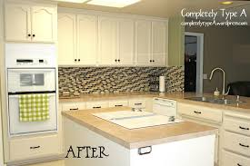 Kitchen Cabinet Restoration Kit Furniture Kitchen Cabinet Refacing Paint Transformation Kit From
