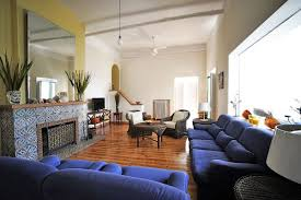 Living Room With Blue Sofa Dark Blue Living Room Furniture Centerfieldbar Com