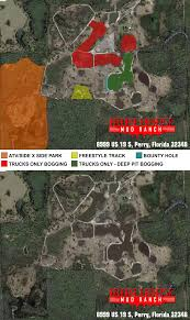 Perry Florida Map by Ranch Map U2013 Iron Horse Mud Ranch