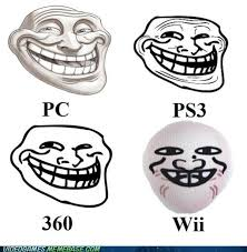 Troll Face Know Your Meme - pc ps3 360 wii trollface coolface problem know your meme