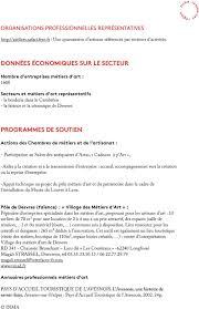 creation entreprise chambre des metiers identification des acteurs régionaux des métiers d pdf