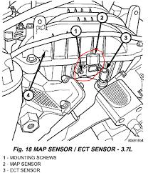 map sensor jeep p0108 jeep liberty v6 3 7 manifold absolute pressure sensor
