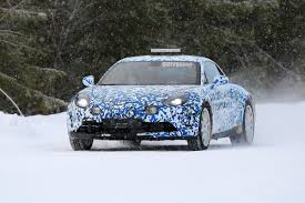 get a better look at renault u0027s all new 2018 alpine sports