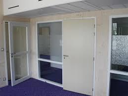 porte de bureau vitr aménagement bureau menuiserie sur mesure atelier madec