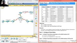 Maps Fall Challenge 4 2 1 4 Packet Tracer Configuring Static Frame Relay Maps Youtube